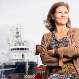 Jacoba F. Bolderheij - CEO Port of Den Helder, and representing North Sea Energy Gateway organisation